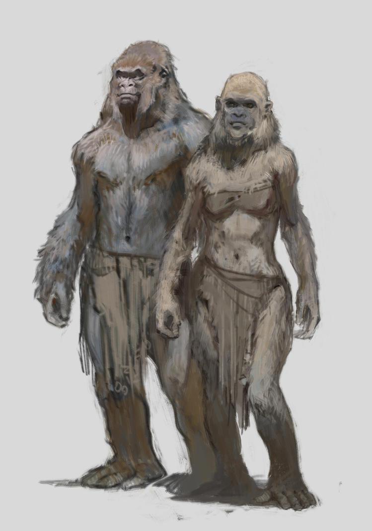 Simian Gorillini by vladgheneli