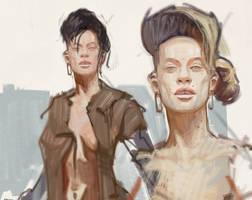 portrait sketches by vladgheneli