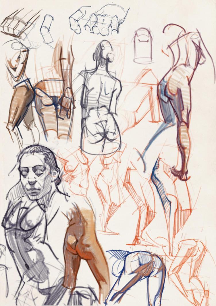 Studies dec2nd 07 by vladgheneli
