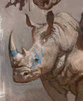rhino crop by vladgheneli