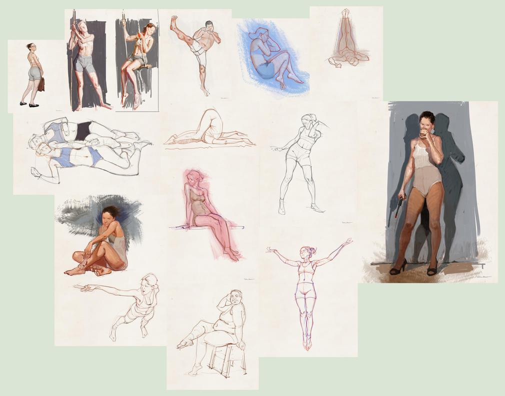 Draw Everything June by vladgheneli