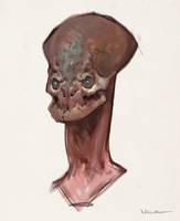 Alien head by vladgheneli