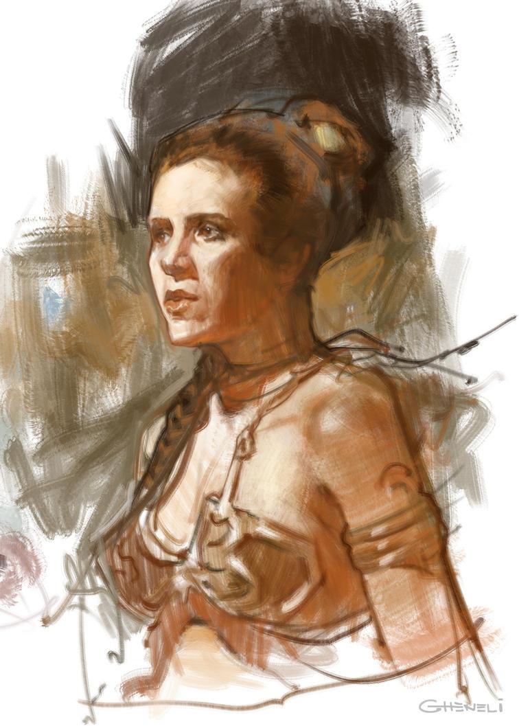 Leia by vladgheneli