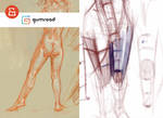 Gumroad - Figure drawing form/structure