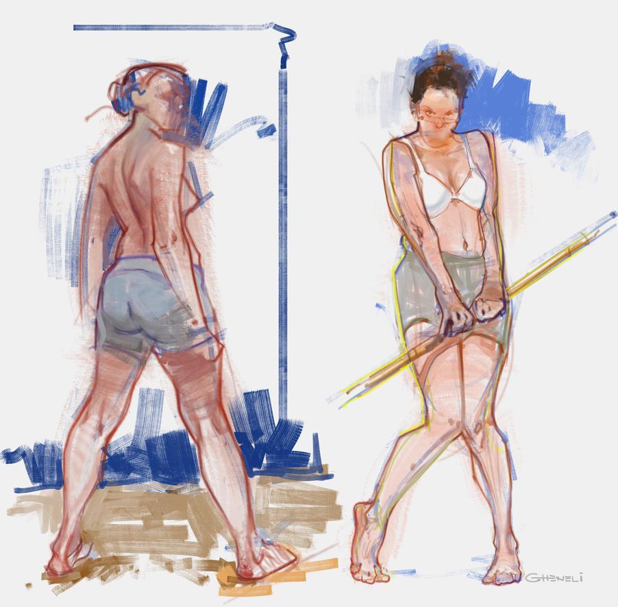 sketches June9th017 by vladgheneli
