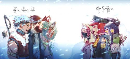My Naruto Ocs by MysteryMint