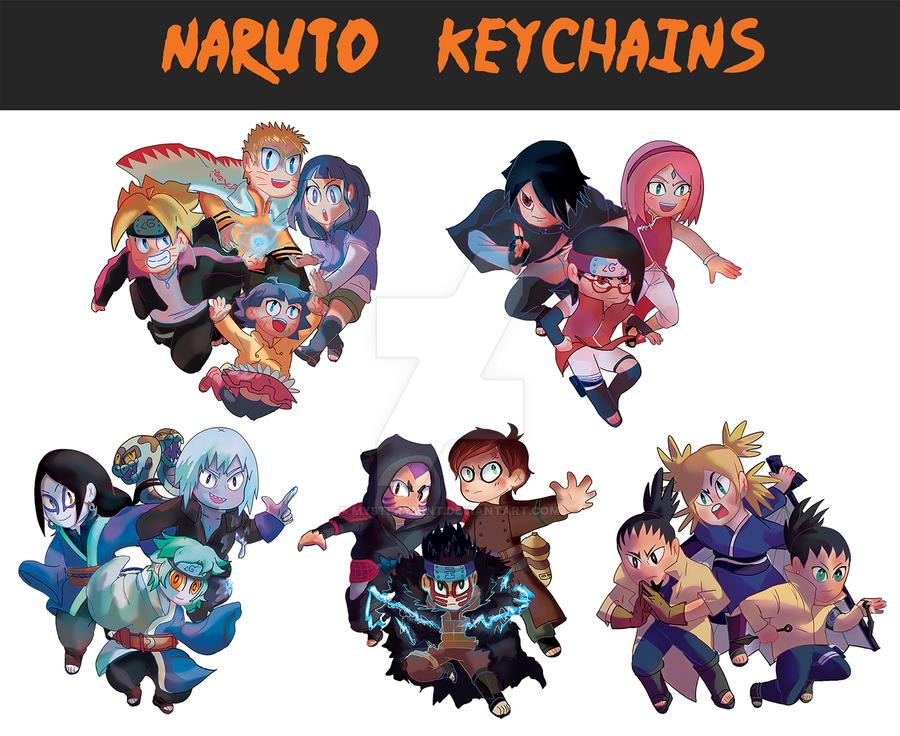 Naruto keychains by mysterymint on deviantart - Image de naruto ...