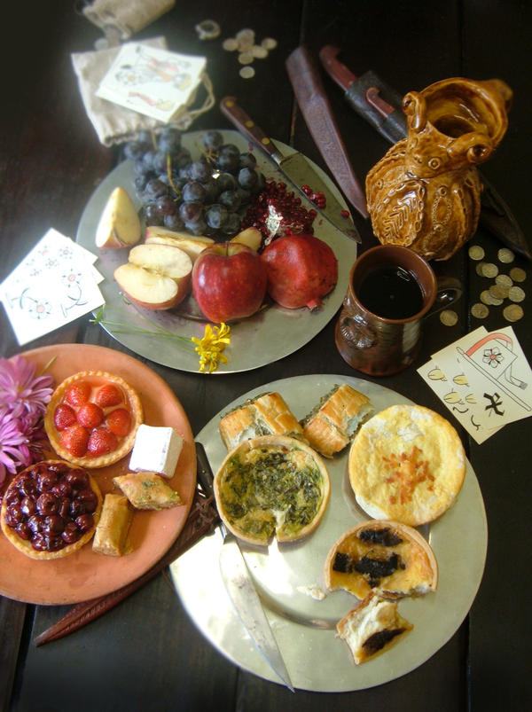 Medieval food by cannonshots on deviantart for Art culture and cuisine ancient and medieval gastronomy