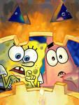SpongeBob Halloween Mag Cover
