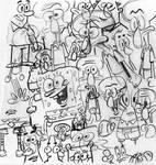 SpongeBob WarmUp Doodle