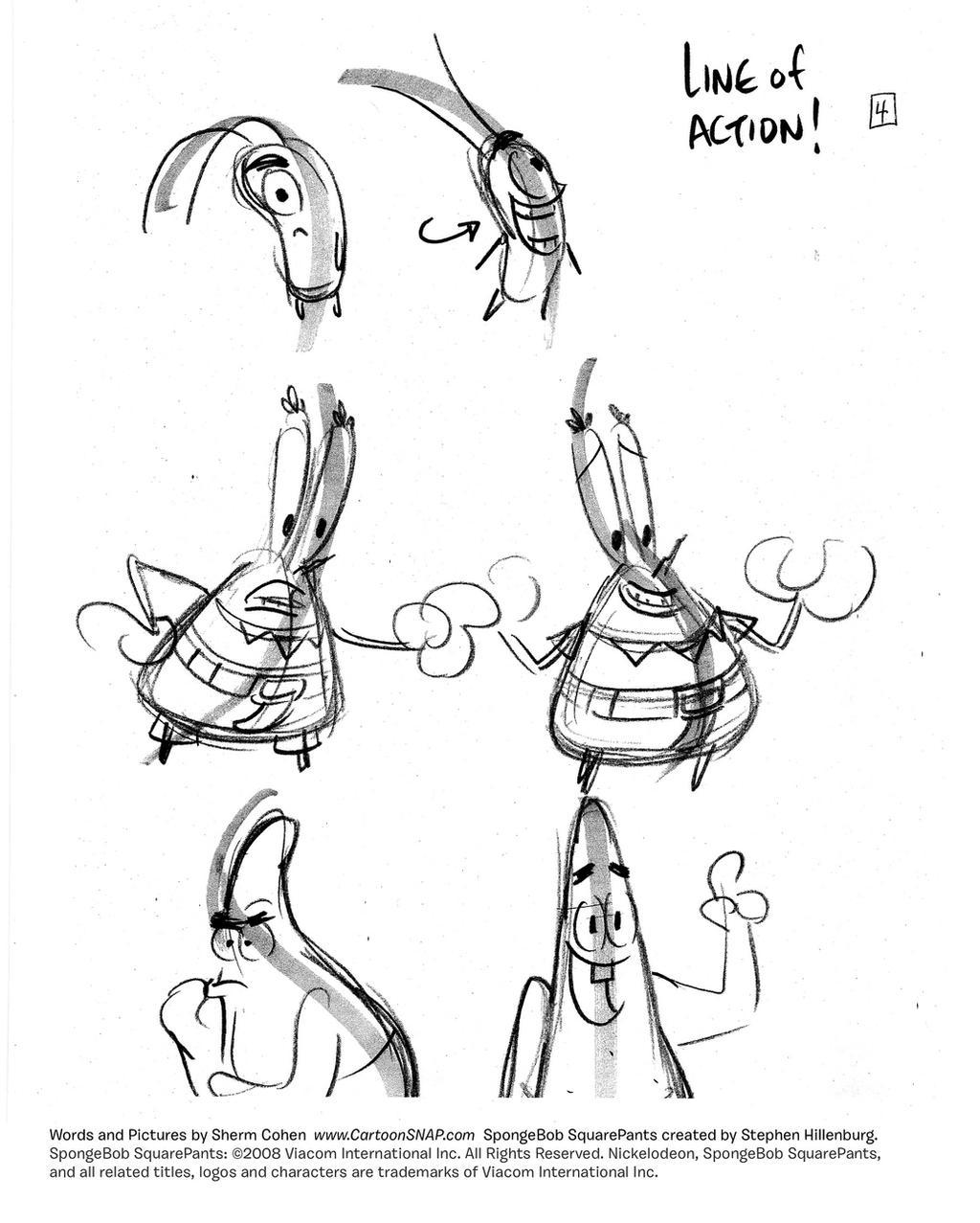 LINEA DE ACCIÓN: SpongeBob_Tutorial_4_Action_by_shermcohen