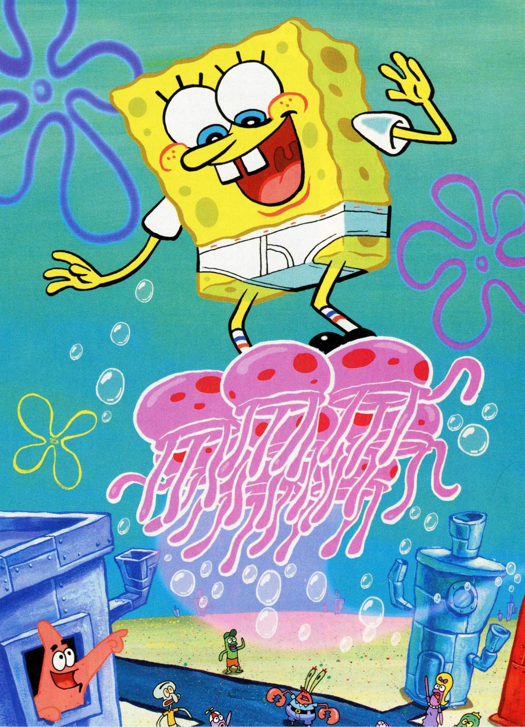 SpongeBob Jellyfish Color