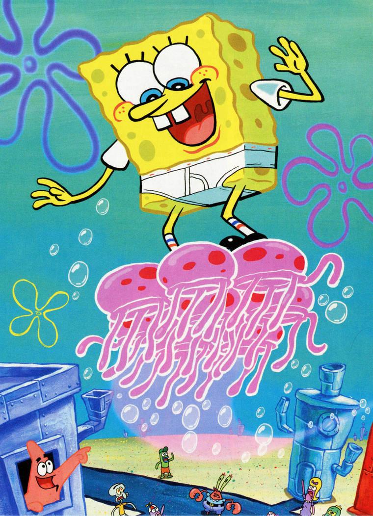 SpongeBlog - Your source for high quality SpongeBob media |Jellyfish From Spongebob