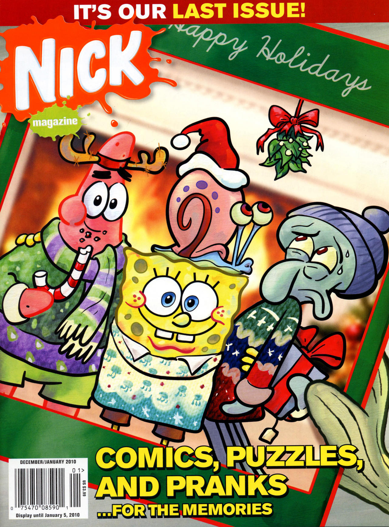 SpongeBob Last Holiday Cover