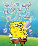 SpongeBob BlowingBubbles Final