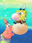 SpongeBob Patrick Bubblegum