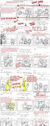 SpongeBob Storyboard Notes by shermcohen