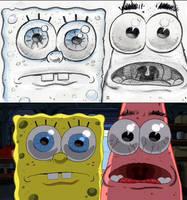 SpongeBob Storyboard: 'Feast your eyes, Patrick.' by shermcohen