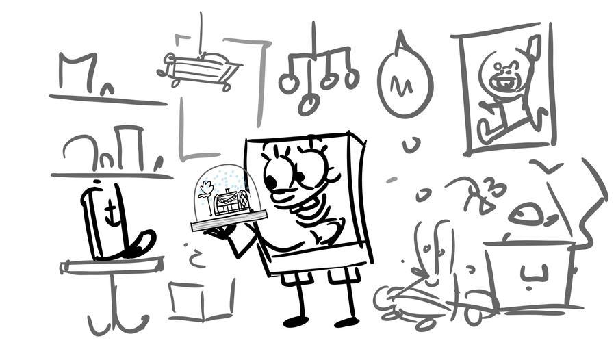 SpongeBob Movie 2 Storyboard