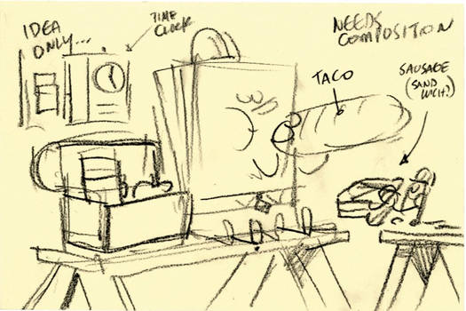 SpongeBob Movie 2 Lunch break