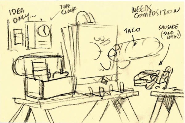 SpongeBob Movie 2 Lunch break by shermcohen