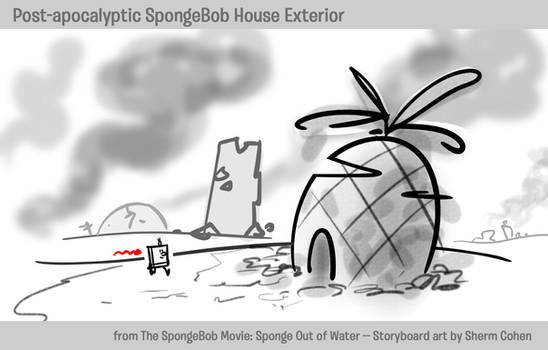 SpongeBob's House -- Post-Apocalypse