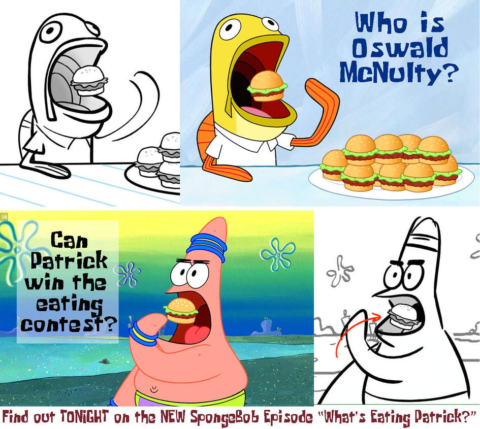 Whats Eating Patrick? Storyboard to Film by shermcohen
