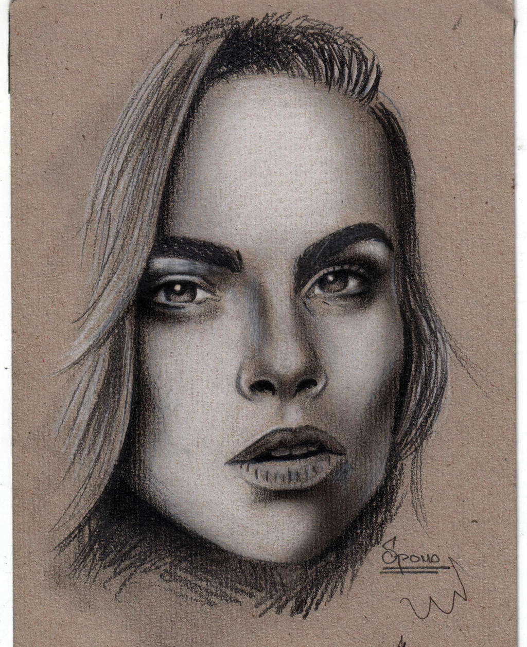Female faces drawings porn videos