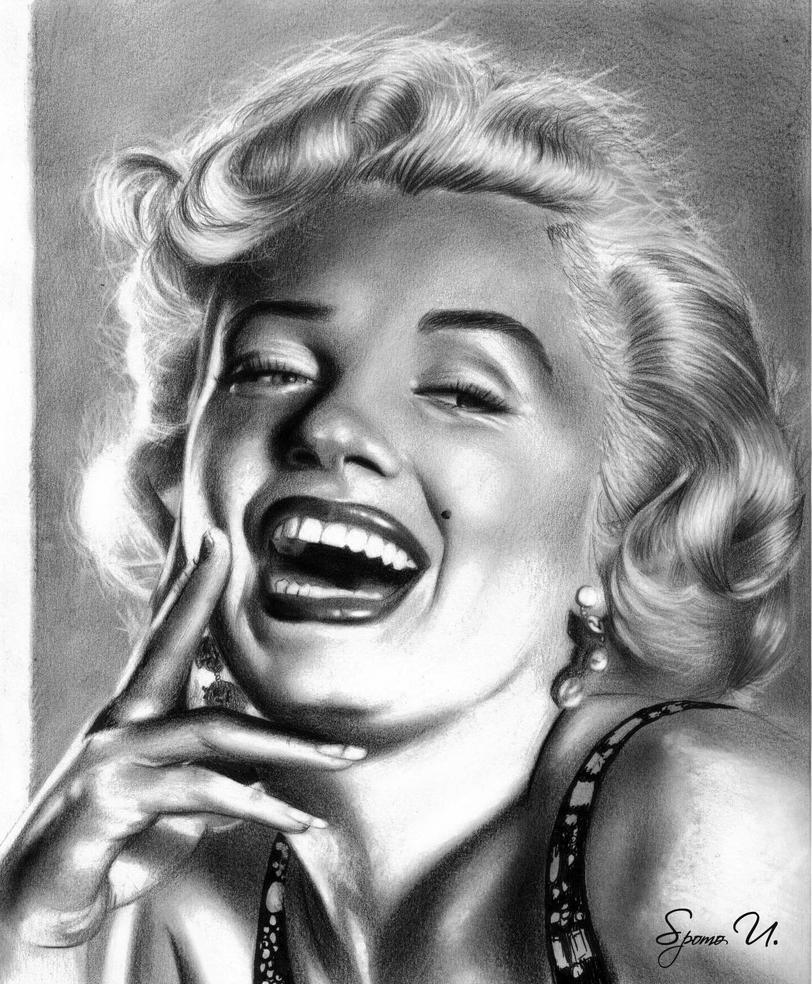 Marilyn Monroe by Spomo-U