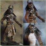 Wolf antropomorf