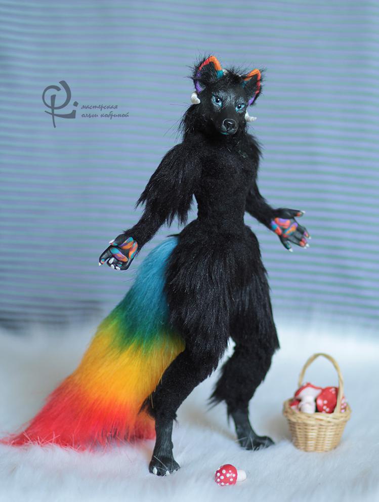 Black wolf by olllga81