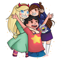 Star Kids by CaroTheFox