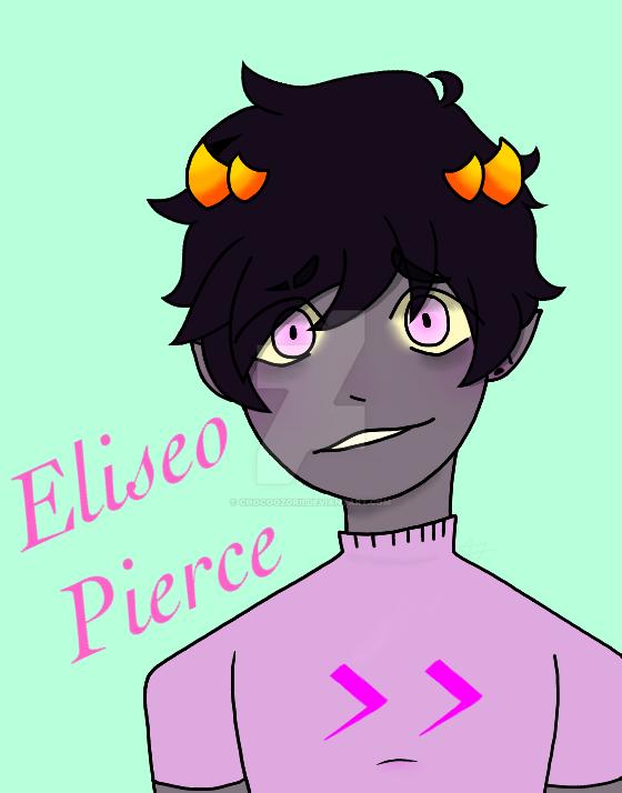 Homestuck OC Eliseo (El-ee-see-oh) Pierce by ChocoOzorii