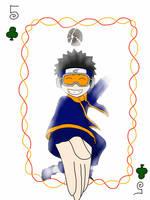 Obito Uchiha playing card by SakuraDreamerz2