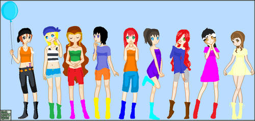 Best Friends 4 by Saraeia