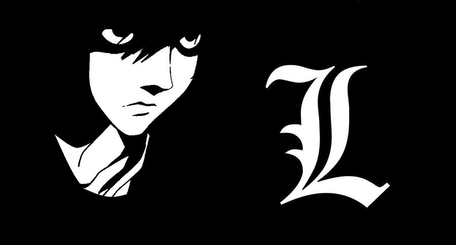 l lawliet - wallpaper - edit - death notesaraeia on deviantart