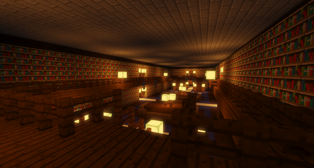 Center of the ancient library by Prince-Polaris