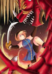 Phenix and the Dragon by EdgeKagami