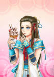 Hayakawa with Ice Cream