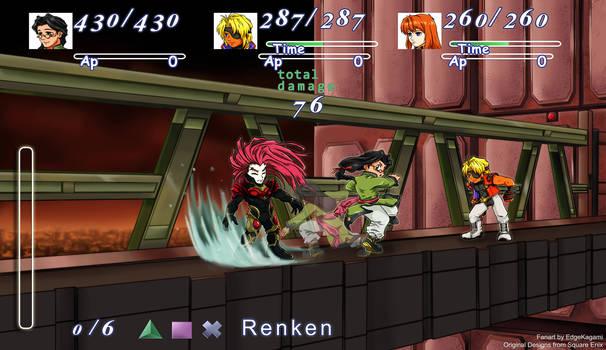 Xenogears Fight Scene (Art Challenge)