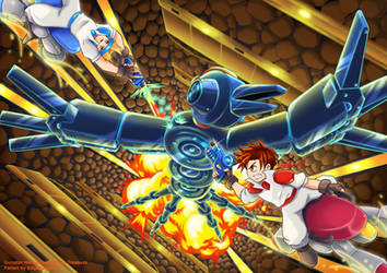 Gunstar Heroes (Video Game History!) by EdgeKagami