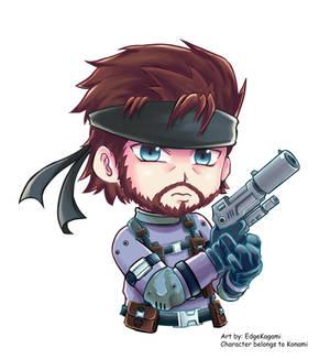 Chibi Solid Snake