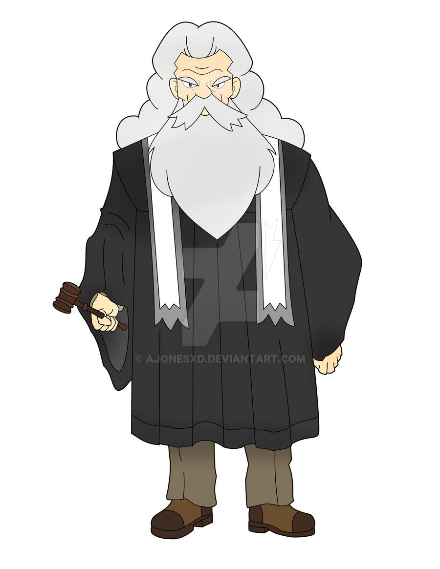 Forre Region Gym Leader: Judge Brent by Ajonesxd