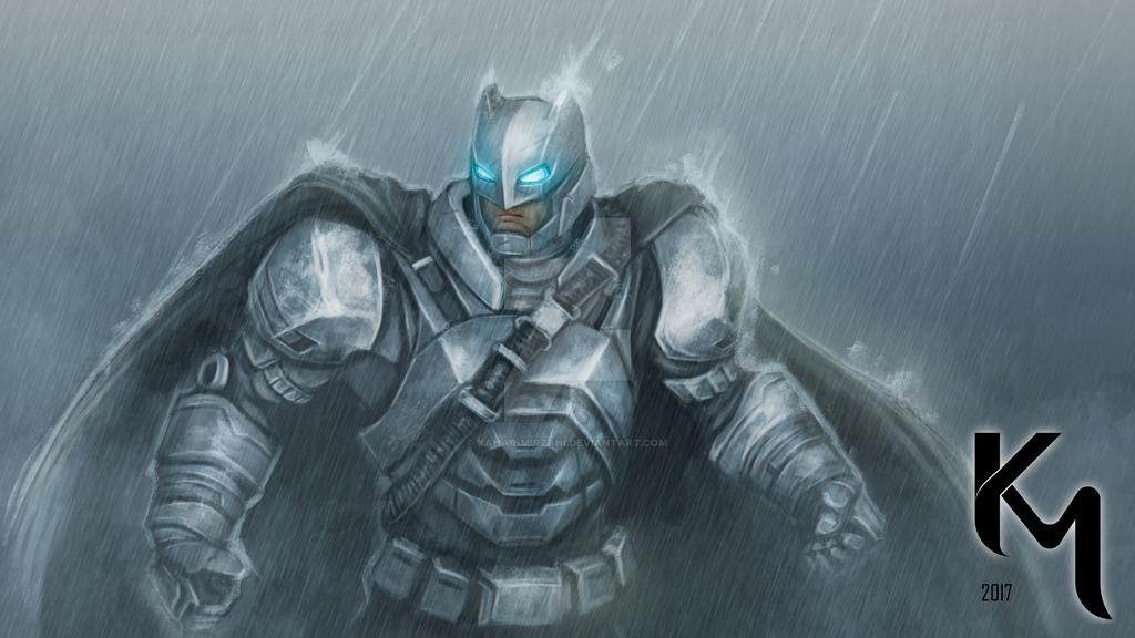 Armored Batman by Kahar-Mirzani