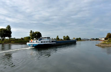 Going down the River Ijssel at Zutphen