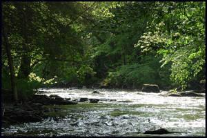 A cool little river by jchanders