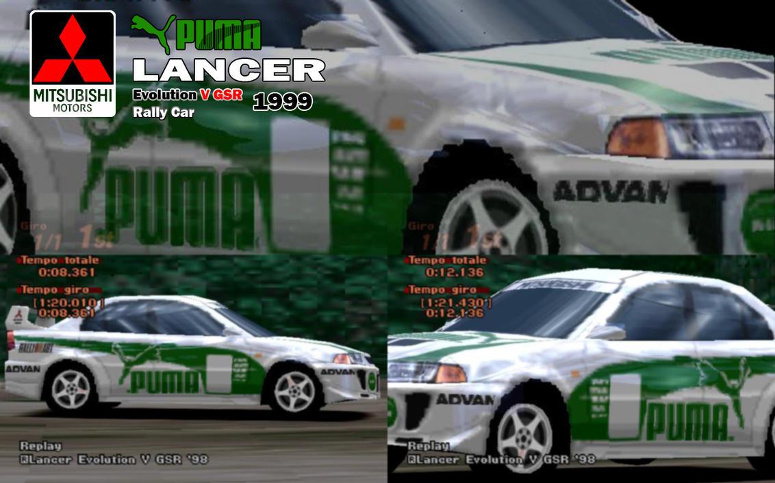 Puma Lancer Evo V Rally car by Hotrod89 on DeviantArt