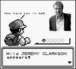 Wild Jeremy Clarkson appears