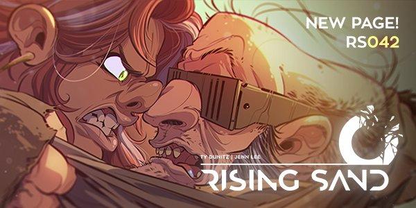 Rising Sand 042 by y2jenn
