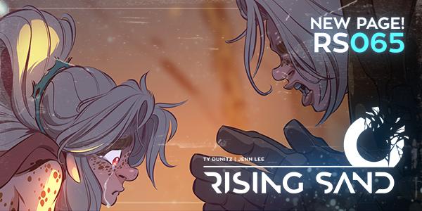 Rising Sand 065 by y2jenn
